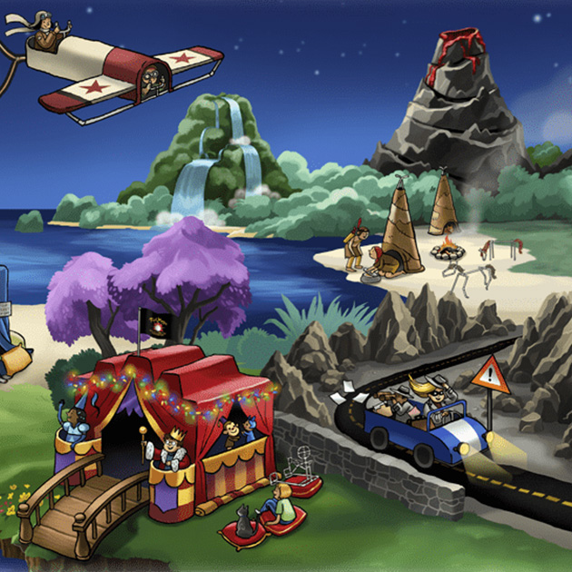 Fort Magic background photo