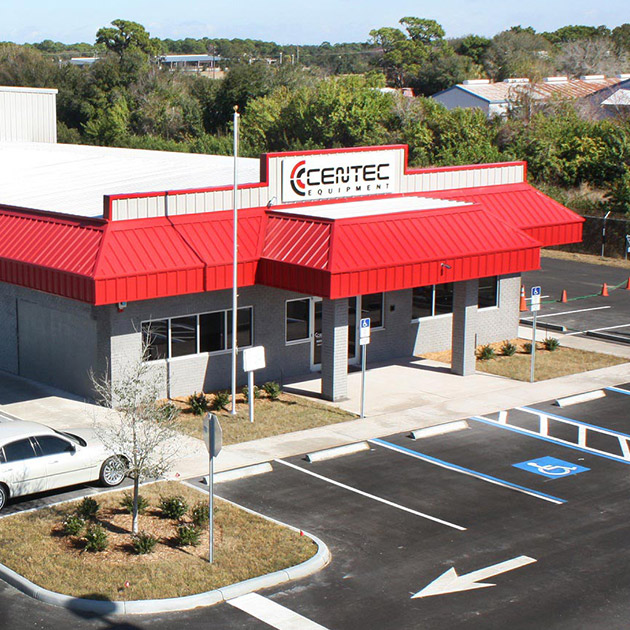 Image of the front of Centec Equipment offices